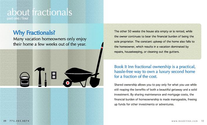'Book It Inn' brochure