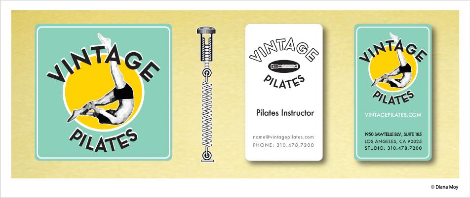 Branding: Vintage Pilates